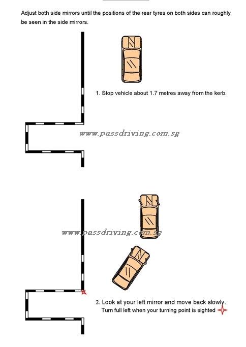 vertical parking beginner. Black Bedroom Furniture Sets. Home Design Ideas